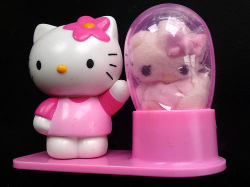 Hello Kitty reveals the newest strain of vat-grown sanrio virus