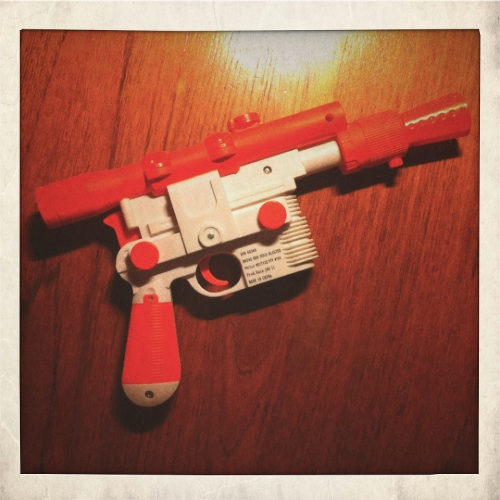 Han Solo's Blaster (before)