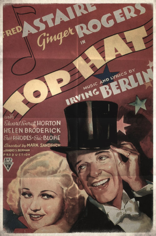 poster of the movie «Top Hat»